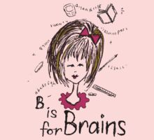 B is for Brains One Piece - Short Sleeve