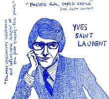 Yves Saint Laurent by iwantajuicer