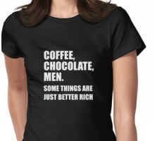 376 Coffee Chocolate Men Womens Fitted T-Shirt