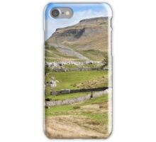 Ingleborough in the Yorkshire Dales iPhone Case/Skin