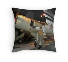 Hawker Sea Fury Throw Pillow