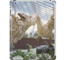 Swan Sculpture iPad Case/Skin