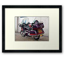 Honda Goldwing Framed Print