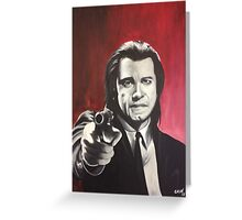 Vincent Vega Greeting Card