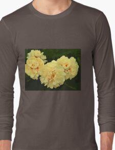 Flower V Long Sleeve T-Shirt
