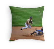 """ OUT "" Throw Pillow"