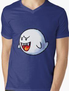 Boo - Mario Mens V-Neck T-Shirt