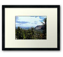 Hills. Framed Print