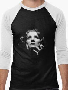 Marlene Dietrich Men's Baseball ¾ T-Shirt