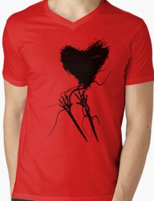 Hold on to LOVE! Love Yourself! Mens V-Neck T-Shirt