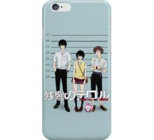 Zankyou no Terror - Mugshot iPhone Case/Skin