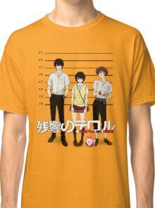 Zankyou no Terror - Mugshot Classic T-Shirt