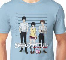 Zankyou no Terror - Mugshot Unisex T-Shirt
