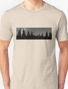 Deer and Trees Unisex T-Shirt