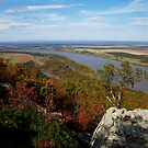 Petit Jean - West Mountain View by Lisa G. Putman
