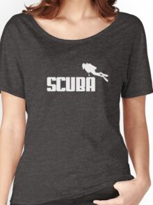 Scuba style Women's Relaxed Fit T-Shirt