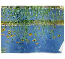 Irrigation Reflection...When Your World Is Upside Down Poster