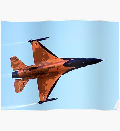 RNAF F16 Solo Display Poster