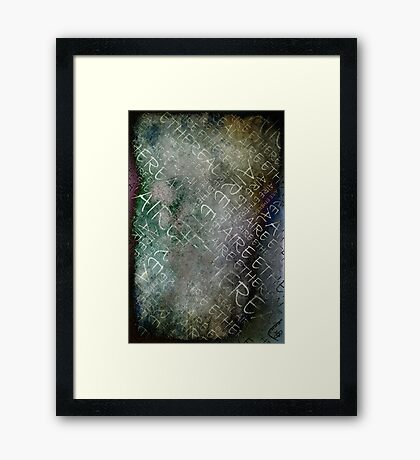 Aire Ethereal Framed Print