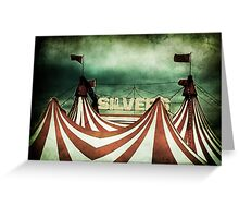 Freak Show Greeting Card