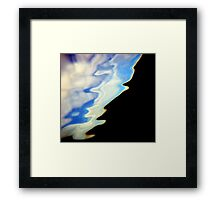 Reality. Framed Print