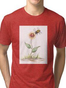 Buzzing Bee Tri-blend T-Shirt
