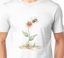 Buzzing Bee Unisex T-Shirt