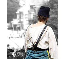 Soldier Girl  Photographic Print