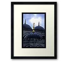 Wet Mosque Framed Print