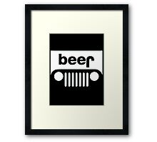 Beer- T-shirts & Hoodies Framed Print
