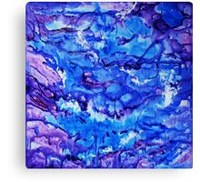 Flowing freely Canvas Print