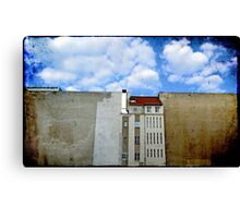 The Wall House Canvas Print