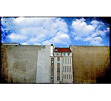 The Wall House Photographic Print