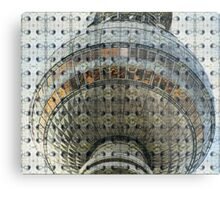 The Berlin TV Tower Metal Print