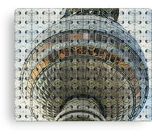 The Berlin TV Tower Canvas Print
