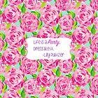 Lilly Inspired Party Quote First Impression by mlr28blu