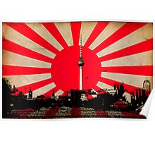City of The Rising Sun Poster
