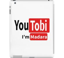 Tobi-Madara t shirt, iphone case & more iPad Case/Skin