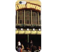 Flinders Street railway station iPhone Case/Skin