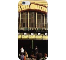 Flinders Street railway station iPhone Case/Skin