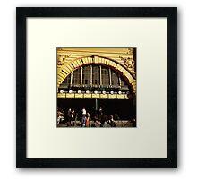 Flinders Street railway station Framed Print