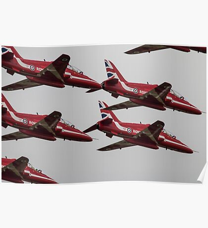 The Red Arrows Synchro Pair Poster