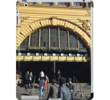 Flinders Street railway station iPad Case/Skin