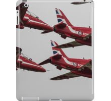 The Red Arrows Synchro Pair iPad Case/Skin