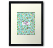 Lilly Inspired Party Quote You Gotta Regatta Framed Print