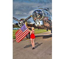 Yankee Girl Photographic Print