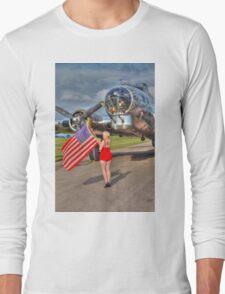 Yankee Girl Long Sleeve T-Shirt