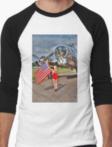 Yankee Girl Men's Baseball ¾ T-Shirt