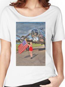 Yankee Girl Women's Relaxed Fit T-Shirt