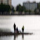 City fishing by LouD